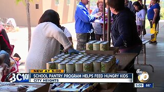 School pantry program helps feed hungry kids