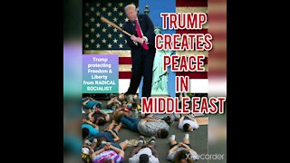 TRUMP PEACE IN THE MIDDLE EAST