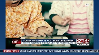 Health News 2 Use: Screen time affects kids' brain development