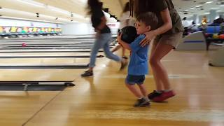 """""""Cute Toddler LOVES Bowling"""""""