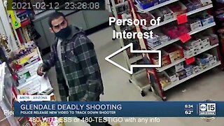 VIDEO: Glendale police searching for suspect, person of interest in deadly shooting