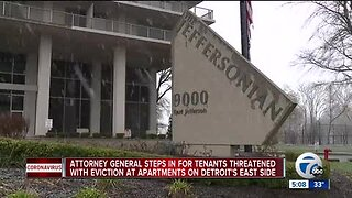 Attorney General steps in for tenants threatened with eviction