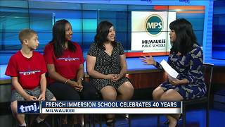 Milwaukee French Immersion School celebrating 40 years of education
