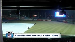 New rules for Bisons home opener - Video