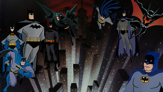 Batman's Animated Evolution