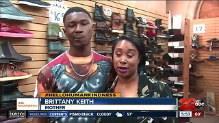 Hello humankindness: Shaq buys shoes for needy teen