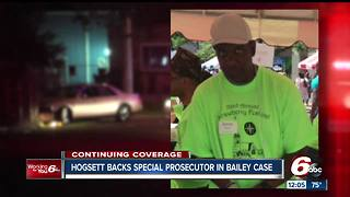 Hogsett: Special prosecutor 'heightens the public's confidence' in Aaron Bailey investigation - Video