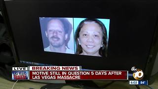 Motive still in question 5 days after Vegas massacre - Video