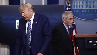 Trump Defies Fauci, Pushes Hydroxychloroquine As COVID-19 Treatment