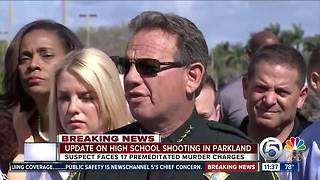 Broward Co. sheriff says all victims identified in Parkland school shooting