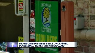 $100,0000-winning Powerball ticket sold at metro Detroit store will expire - Video