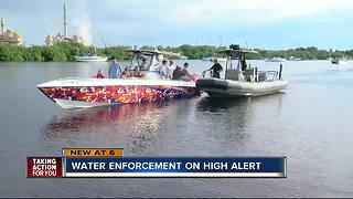 Water enforcement on high alert for Labor Day weekend - Video