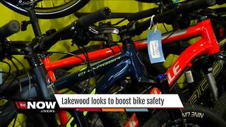 City of Lakewood to boost bike safety - Video
