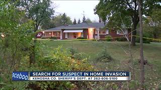 Kenosha County deputies still looking for intruder - Video