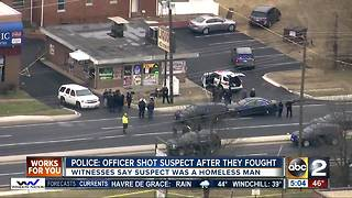 Man injured in police-involved shooting in Prince George's county - Video