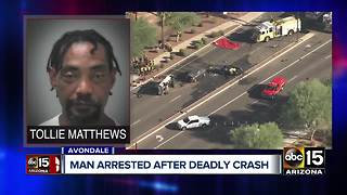 Suspected DUI driver arrested in deadly Avondale crash