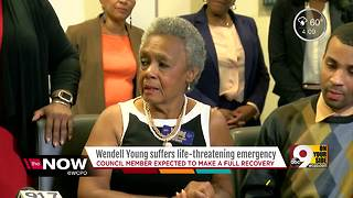 Wendell Young will fully recover from heart emergency, family says - Video