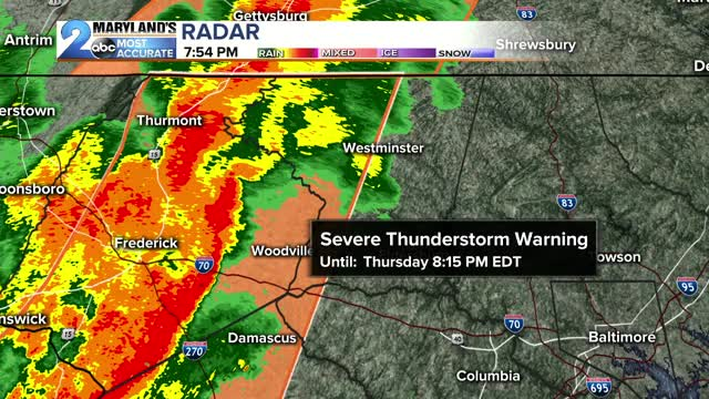 Watch Live: WARNINGS ISSUED: Meteorologist Erik Taylor has the latest now.