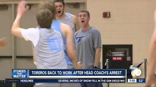 Toreros back to work after coach's arrest - Video