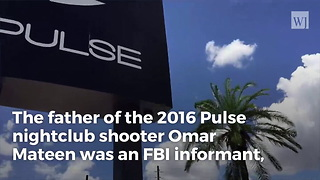Bombshell: Father of Orlando Shooter FBI Failed to Stop Was FBI Informant Himself - Video