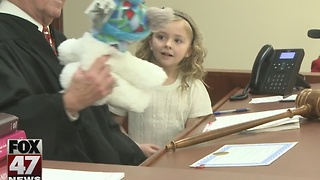 Adoptions finalized in Ingham County - Video