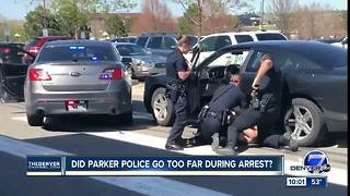 Woman arrested after reportedly eluding, assaulting Parker Police Officer