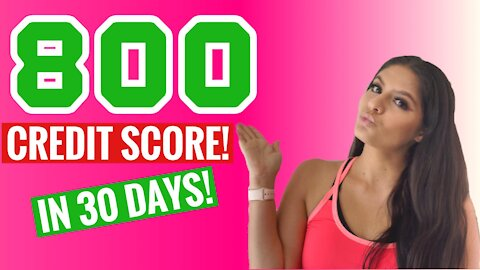Credit Repair In 30 Seconds ( 20 Points In 20 Days - Video 1 Of 10 )