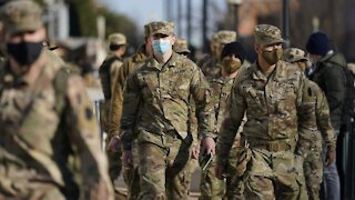 COVID Outbreak Among National Guard Troops In D.C.