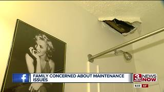 Family Concerned about apartment maintenance