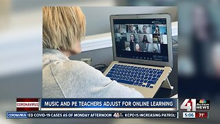 Physical education, art, music teachers adjust to online learning
