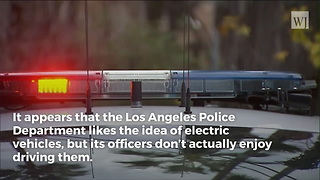 California City Leaders Wasted $10 Million Buying 'Green' Police Cars They Don't Use - Video