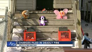 Woman charged for Milwaukee house fire that killed daughter