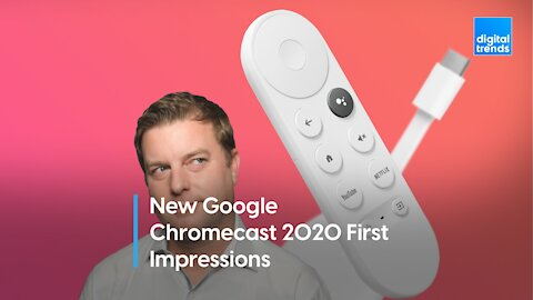 A remote changes the Chromecast experience