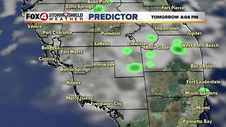 Above Average Temps...Tracking a Strong Cold Front - Video