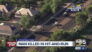 Man hit, killed by hit-and-run driver in Litchfield Park - Video