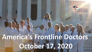 Americas Frontline Doctors: White Coat Summit II - SCOTUS Press Conference October 17, 2020
