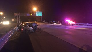 All SB I-275 toward downtown St. Pete closed due to deadly crash - Video
