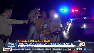 Wrong-way driver on I-805 arrested