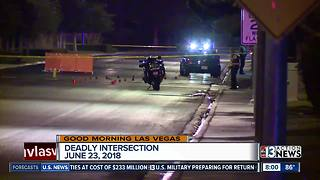 21-year-old hit and killed while crossing the street in North Las Vegas