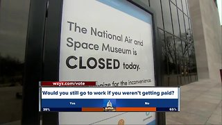 Federal contractors talk about shutdown concerns - Video