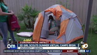 Virtual summer camps begin for San Diego Girl Scouts