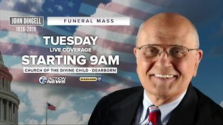 How to watch the funeral for John Dingell
