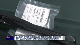 64% more parking violations issued at Eastern Michigan University after new vendor hired