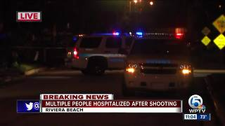 Riviera Beach shooting hospitalizes multiple people