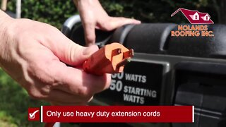 Generator Safety in a storm |Tracking the Tropics Quick Tip
