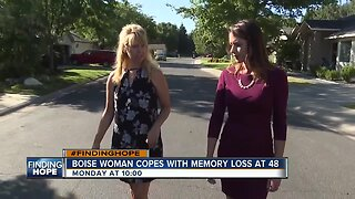 FINDING HOPE: Living with memory loss at 48