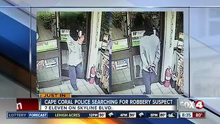 Masked man pulls armed robbery at a Cape Coral convenience store