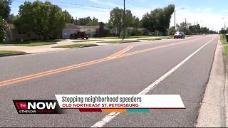 Stopping neighborhood speeders - Video