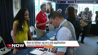 How to follow-up on a job application - Video