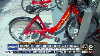 Howard County to launch Bikeshare program